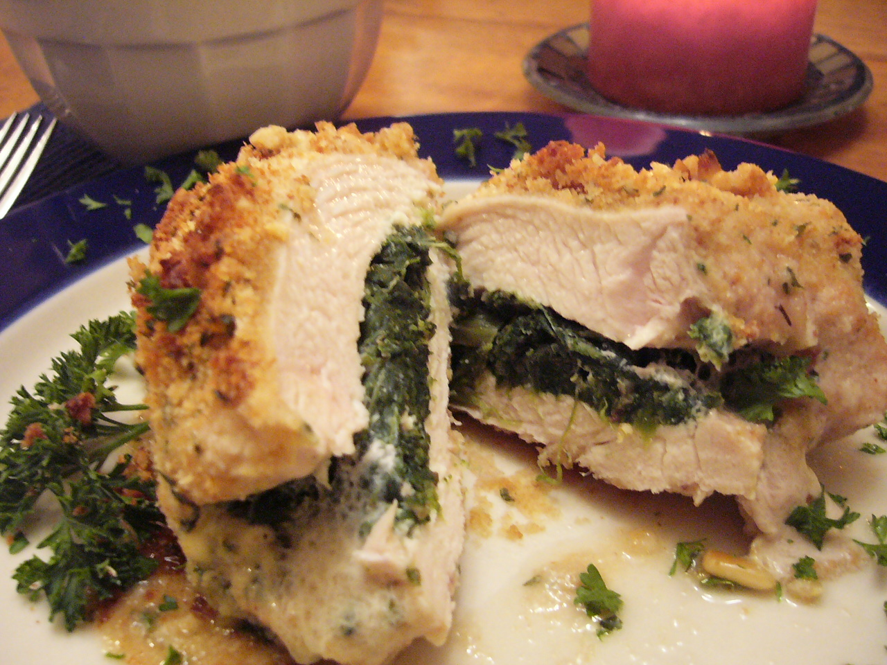 Stuffed Chicken Breast with Spinach and Feta | The Confidence Diet