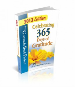 Cover of the Gratitude Book Project on Amazon