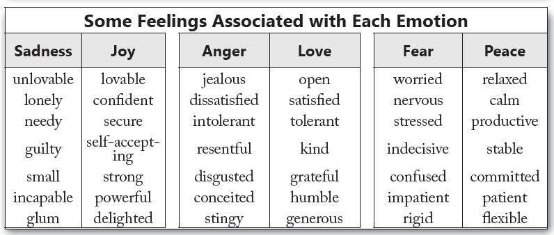 emotion vs feeling
